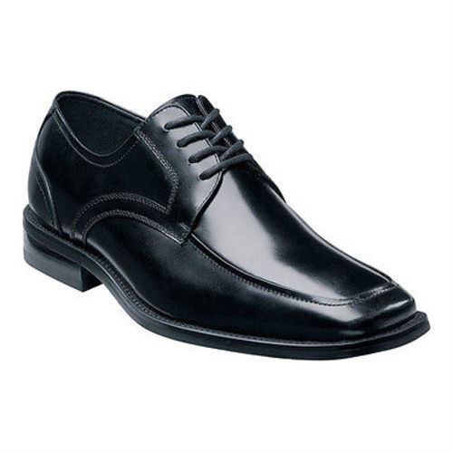Stacy Adams FORREST Mens Black Leather Moc Toe Comfort Dress Shoe 20114-001 (Medium (D, M), 11.5)