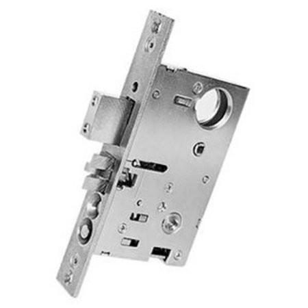 """Baldwin 6375.R Right Handed Entrance, Emergency Egress Mortise Lock with 2-1/2"""", Lifetime Satin Nickel"""
