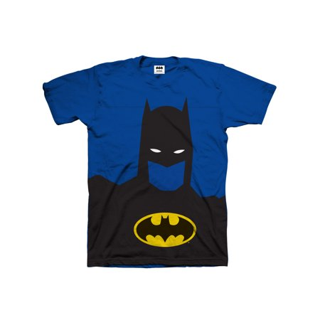 Batman Glow in the Dark Silhouette with Logo (Little Boys & Big - Batman Merchandise For Kids