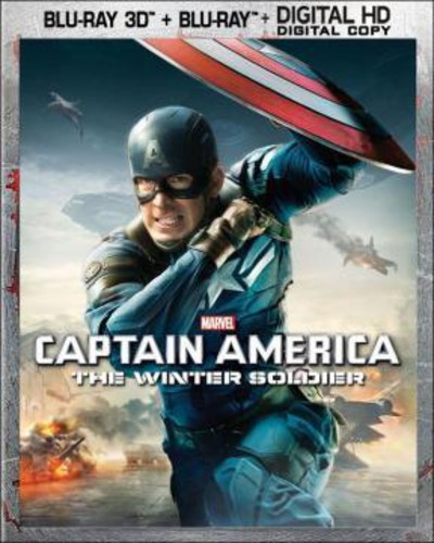 Captain America: The Winter Soldier (Blu-ray + Blu-ray + Digital Copy) by