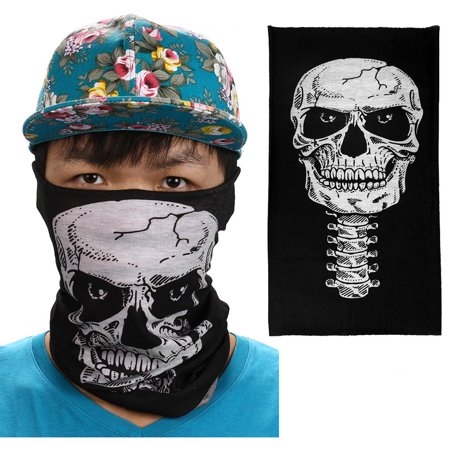 Multi-use Colorful Clown Fashion Windproof Face Mask Neckerchief Scarf for Outdoor Cycling Sports - Cool Clown Faces