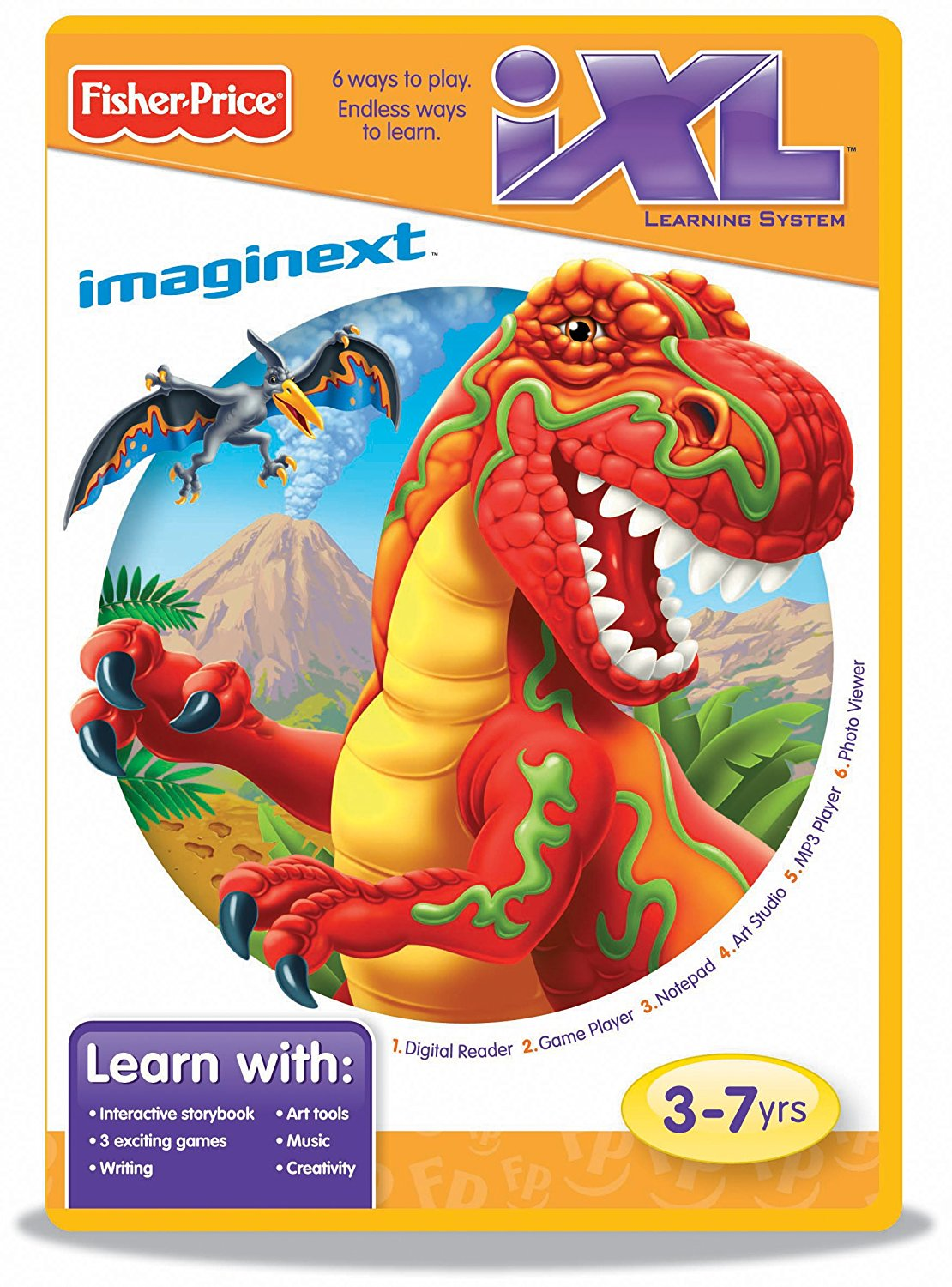Fisher Price iXL Learning System Software Ni Hao, Kai-lan, Expand your child's learning... by
