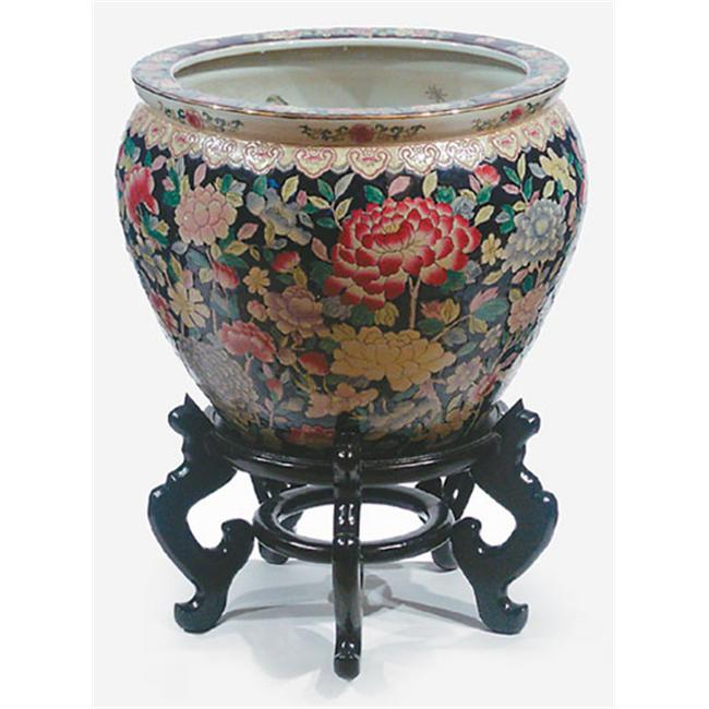 Autograph Foliages CB-16 16 in. Porcelain Planter