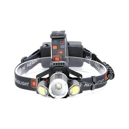 U`King ZQ - X856 XM - L T6 1400LM 4 Mode Multifunction Zoomable High Brightness LED Headlamp
