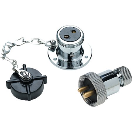 Seachoice Deck Connector with Brass Double Contacts
