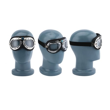 Hot Anti-UV Safety Motorcycle Scooter Pilot Goggles Helmet Glasses Motocross - image 7 of 9