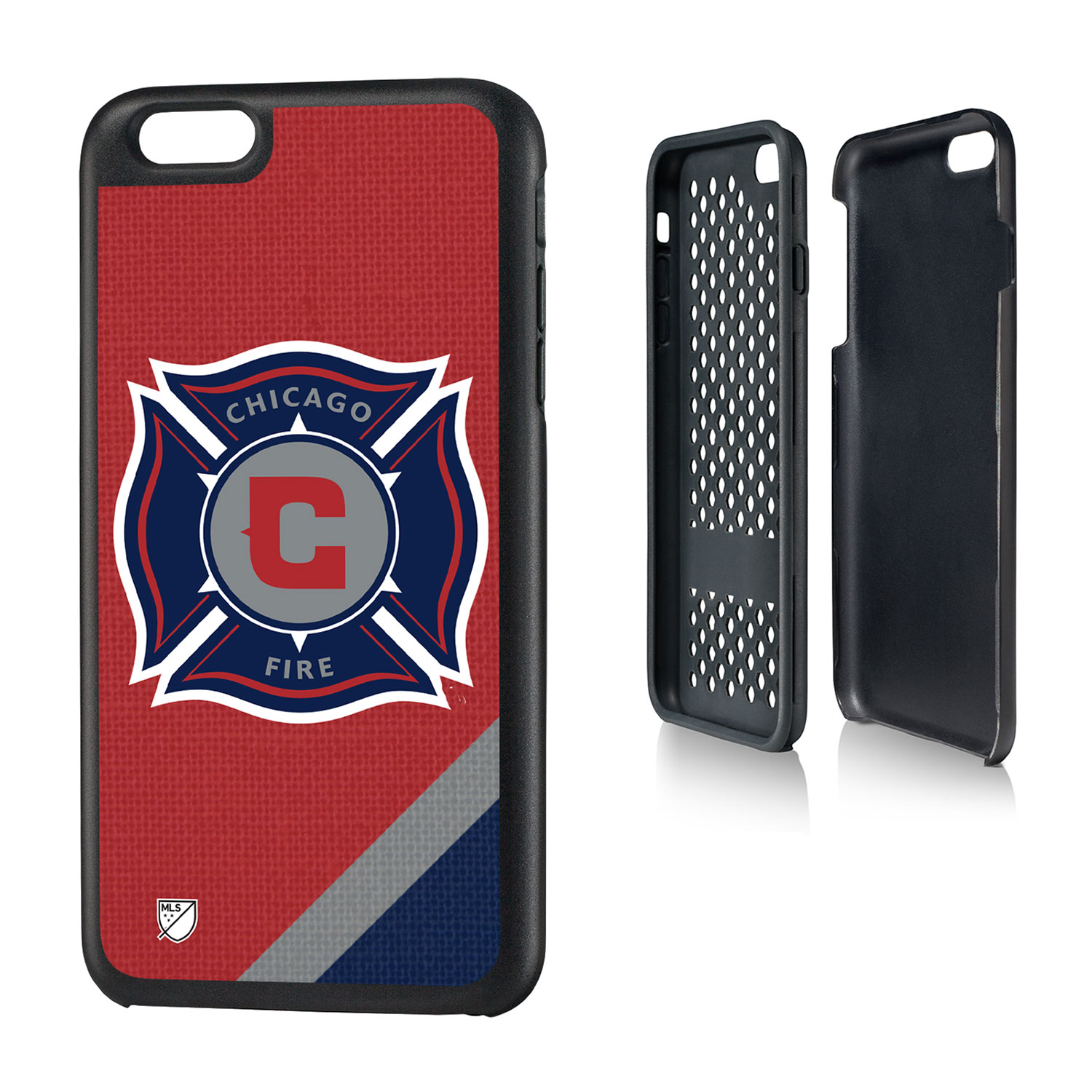 Chicago Fire #CF97 Solid Rugged Case for iPhone 6 Plus