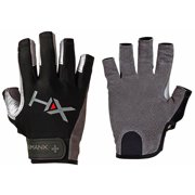 Harbinger HumanX X3 3/4 Finger Competition Weight Lifting Gloves - Gray