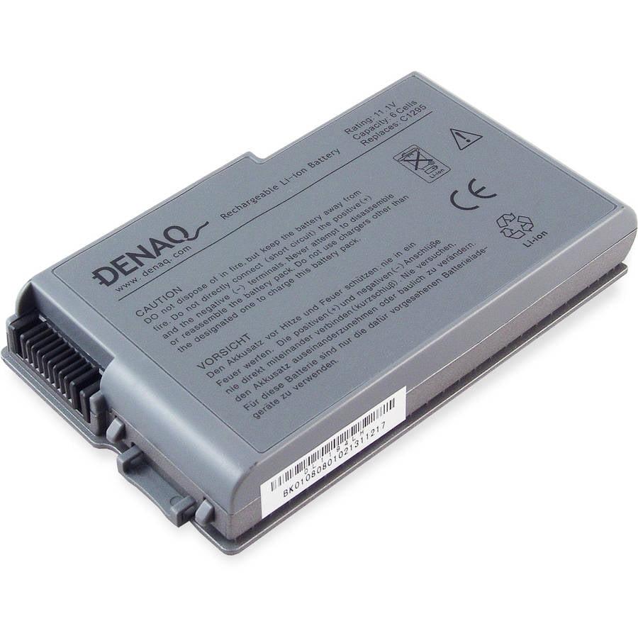6-Cell 53Whr Li-Ion Laptop Battery for Dell Inspiron 500m, 510m, 600m; Latitude D500, D505, D510, D600, D610; Precision M20