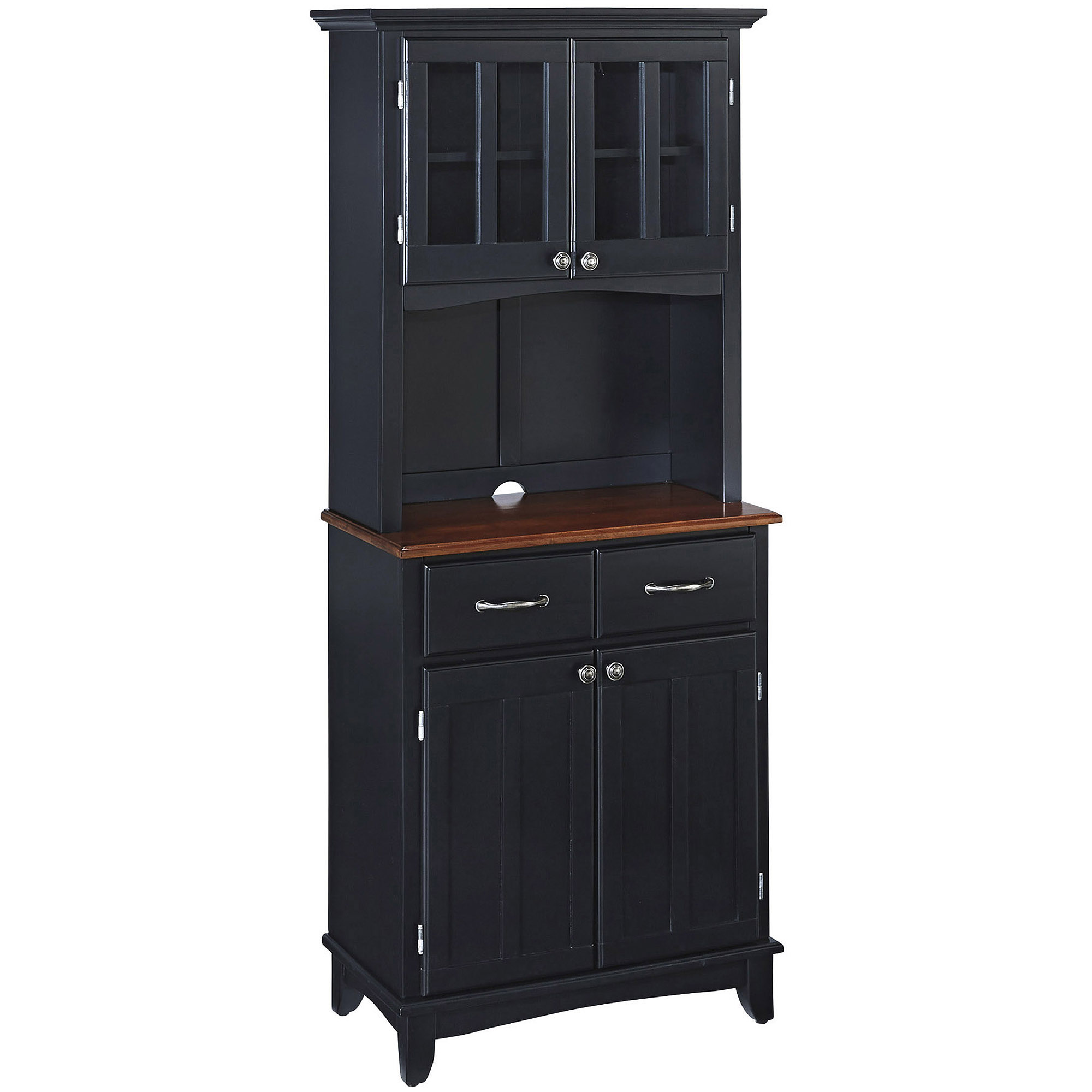Sliding Wood Doors Stackable Storage Cabinet, Multiple Colors ...