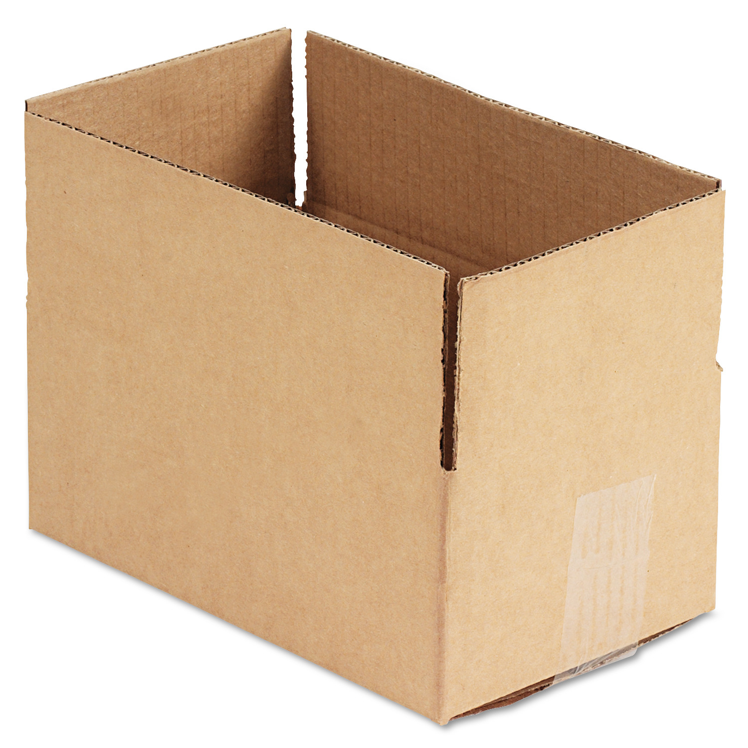 General Supply Brown Corrugated - Fixed-Depth Shipping Boxes, 10l x 6w x 4h, 25/Bundle -UFS1064