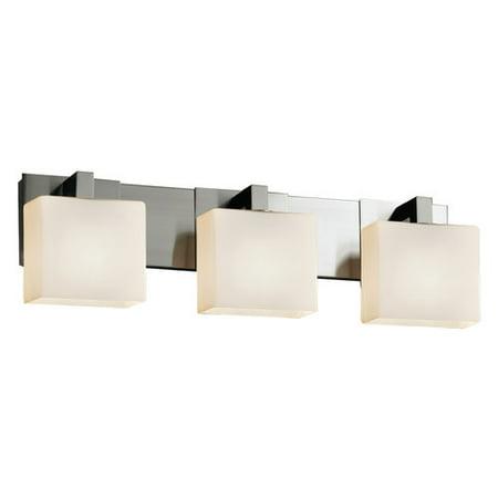 Justice Design Group Fusion Modular 3 Light Vanity Light Justice Design Group Clips