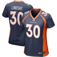 Phillip Lindsay Denver Broncos Nike Women's Game Jersey - Navy