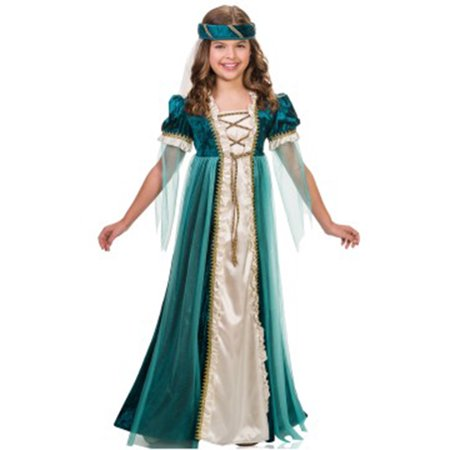 Emerald Juliet Child Costume (Emerald Costume)