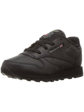 9c982fb1e90 Product Image Reebok 92757  Infant Toddler Classic Leather Black Sneaker (8  M US Toddler)