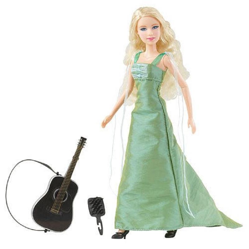 "Taylor Swift Teardrops on my Guitar"" Singing Doll"""
