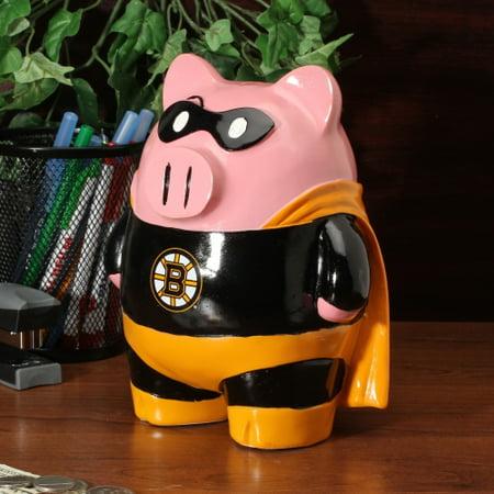 Boston Bruins Large Superhero Piggy Bank - No Size - Walmart.com 58bc1ad6c