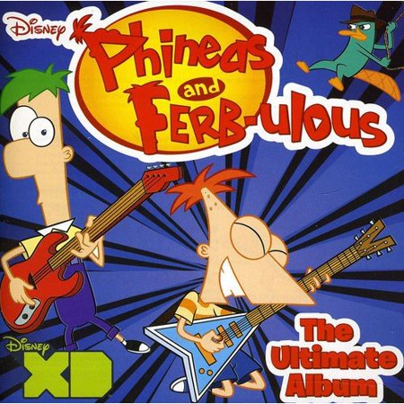 PHINEAS AND FERB-ULOUS - THE ULTIMATE ALBUM (The Ultimate Halloween Party Album)
