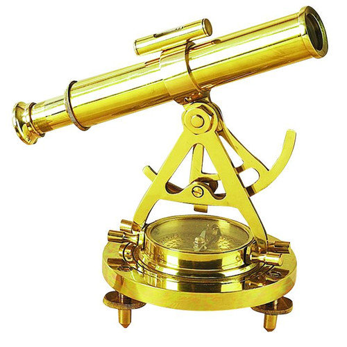 Woodland Imports Decorative Telescope with Compass