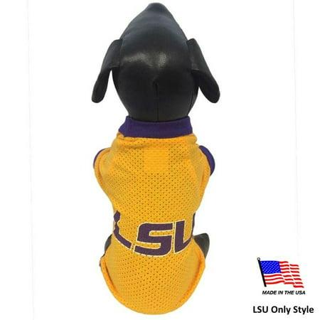 LSU Tigers Athletic Mesh Pet Jersey - Medium - Tiger - image 1 of 2