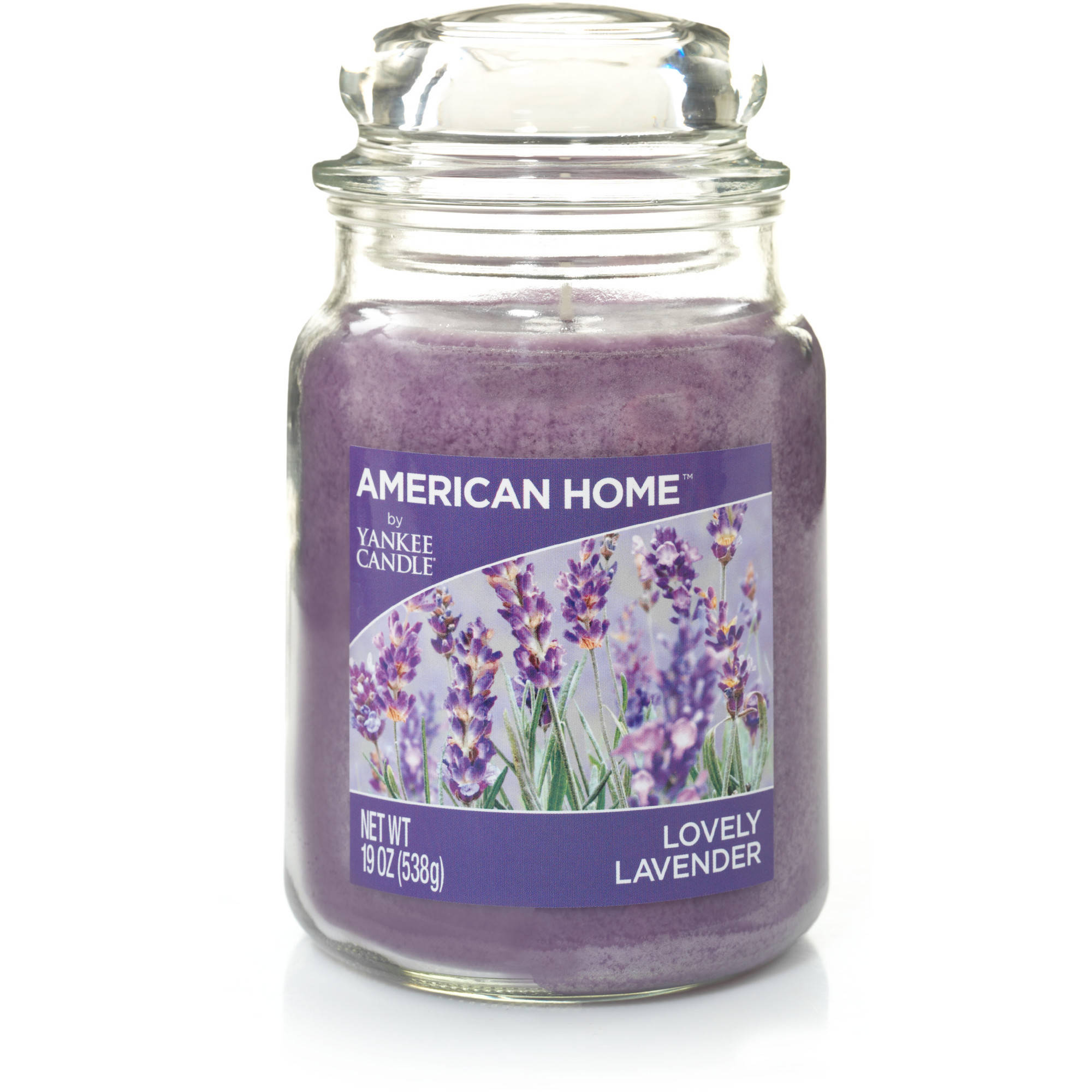 American Home by Yankee Candle Lovely Lavender, 19 oz Large Jar