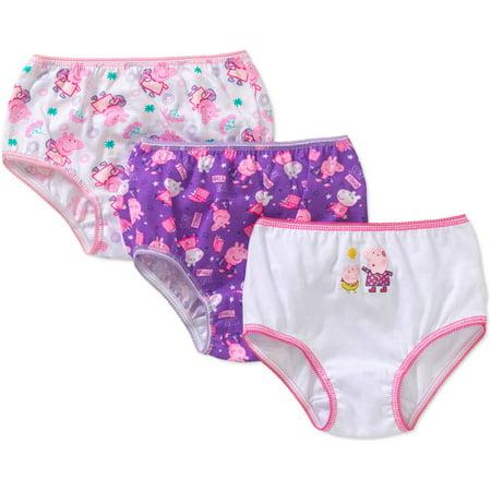 - Peppa Pig Toddler Girls' Underwear, 3-Pack