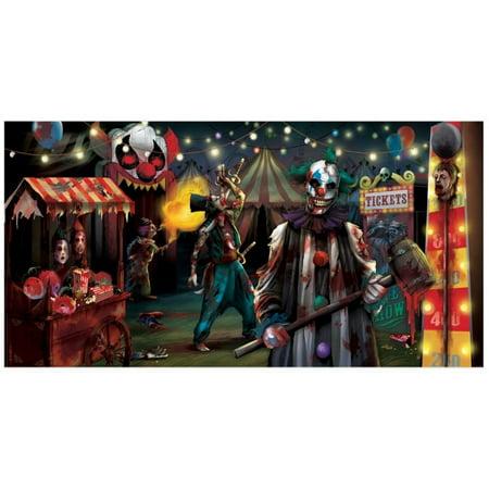 Creepy Carnival Sideshow Horizontal - Halloween Carnival Ideas