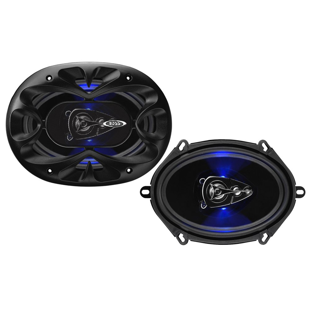 "Boss BE5768 Rage 5"" x 7"" 4 Way 300W Full Range Mobile Audio/Video Speakers, Pair"