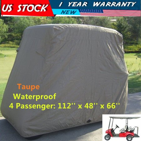 4 Pengers Golf Cart Storage Cover For EZ Go Club Car Taupe NEW ... on custom canvas covers, ezgo gas golf carts, ezgo custom golf carts, yamaha golf cart covers, club cart covers, shock covers, ezgo club cover, rv storage covers, clear vinyl seat covers, ezgo seat covers, sam's club car covers, golf cart weather covers, yamaha golf car seat covers, ezgo rxv, club car storage covers, ezgo electric golf carts, ezgo golf cart rain covers, utv storage covers, equipment covers, golf cart seat covers,