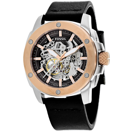 Fossil Men's Modern Machine Watch Automatic Mineral Cryst...