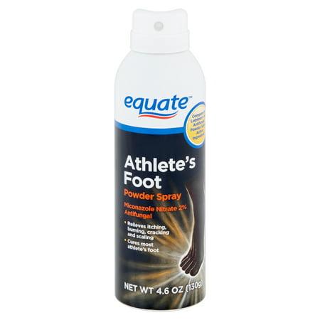 Equate Athlete's Foot Powder Spray, 4 6 oz