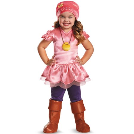 Jake and the Neverland Pirates Izzy Deluxe Toddler Costume