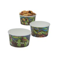 Tmnt Treat Cups (8pc) for Birthday - Party Supplies - Licensed Tableware - Licensed Cups - Birthday - 8 Pieces
