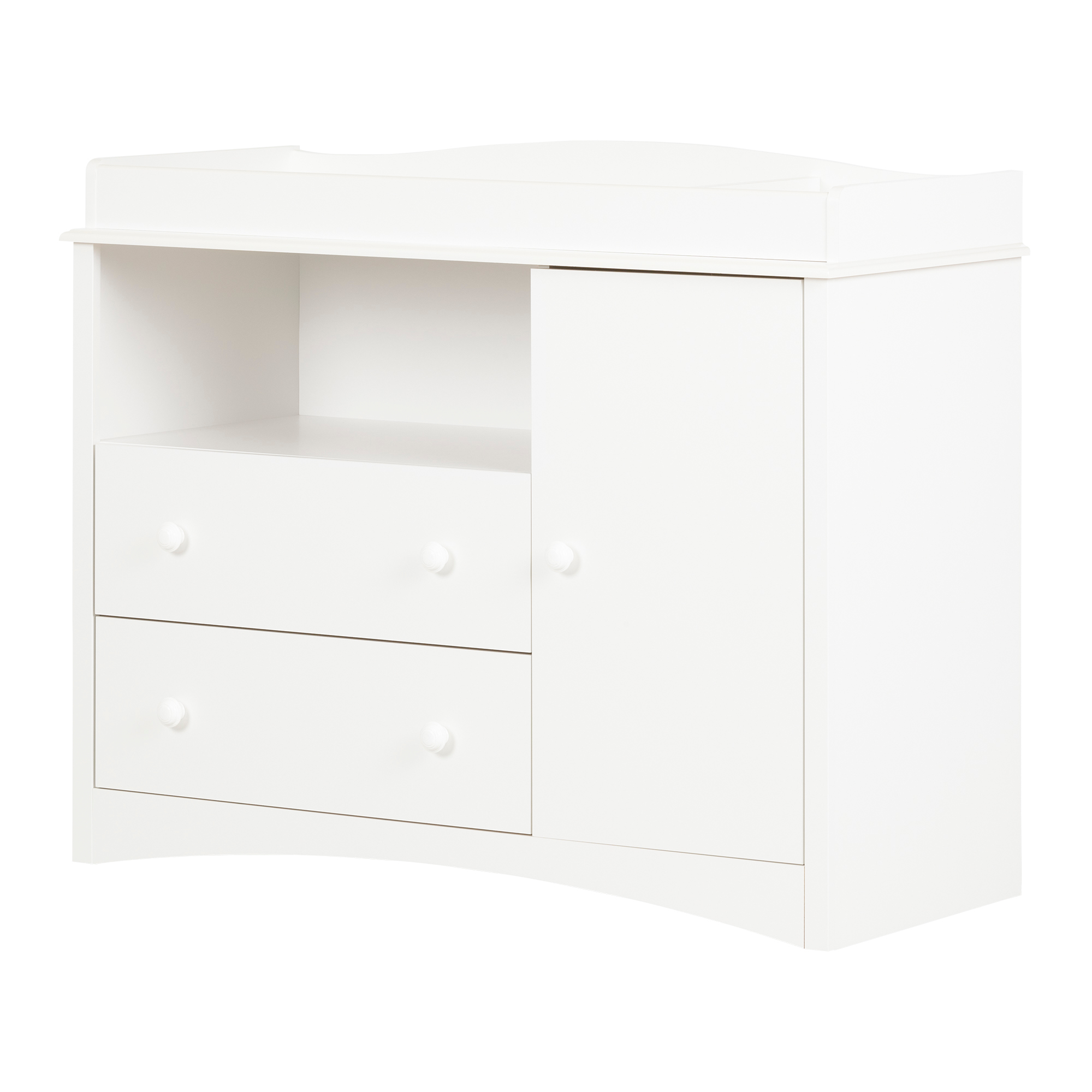 South Shore Peak-a-boo Changing Table, White by South Shore Furniture