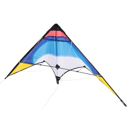 1.3m Colorful Kite Double Line Stunt Kite Double Line Kite Glassfiber Frame Kite Novice Beginners Best Flyer East