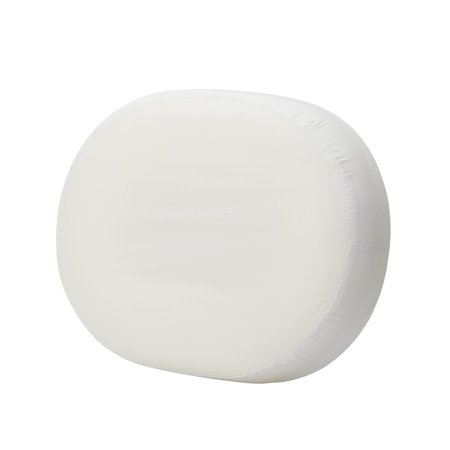 DMI 16-inch Molded Foam Ring Donut Seat Cushion Pillow for Hemorrhoids, Back Pain, White