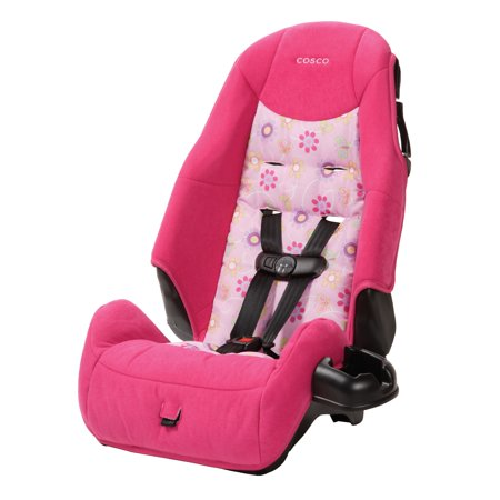 Cosco Highback Booster Car Seat Polyanna