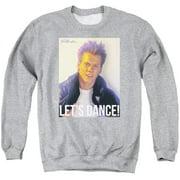 Footloose Lets Dance Mens Crewneck Sweatshirt