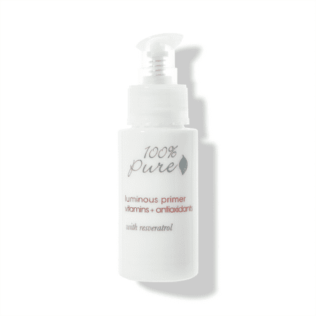 Antioxidant Primer - 100% PURE Luminous Primer Vitamins + Antioxidants With Resveratrol, 1 Fl Oz