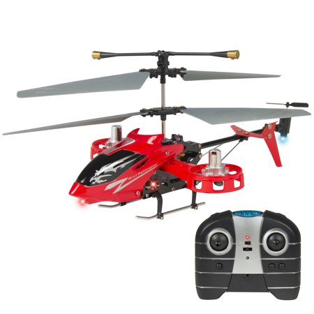 Best Choice Products Avatar 4CH 2 4G Metal RC Remote Control Helicopter LED  Light GYRO RTF UP