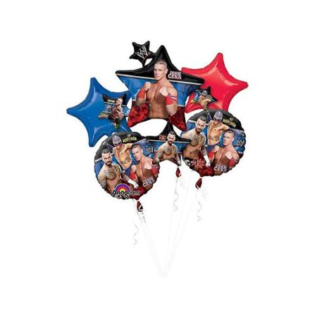 WWE Balloon Bouquet - Party Supplies - Wwe Party Decorations