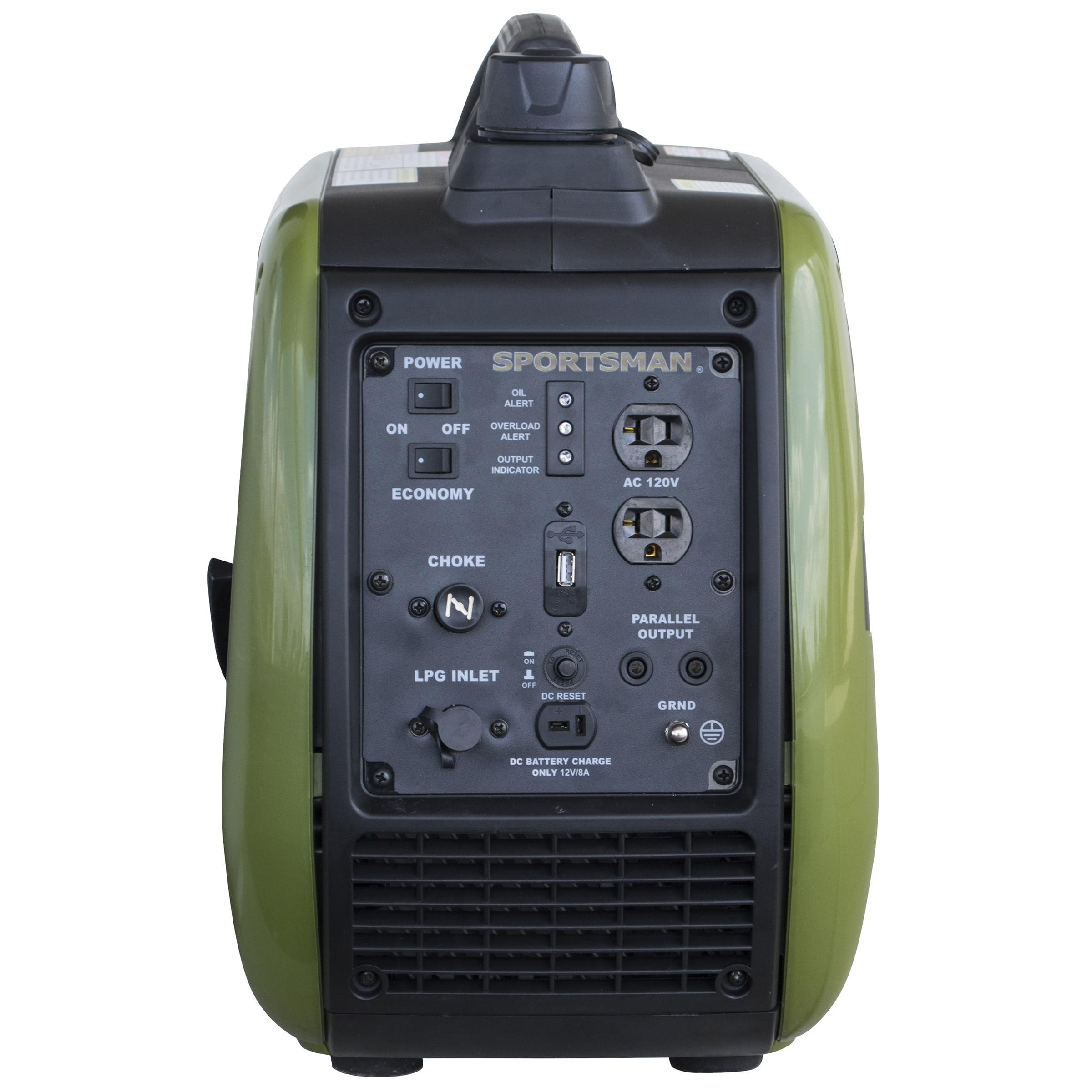 Sportsman 2200 Watt Dual Fuel Inverter Generator For Sensitive Electronics Walmart Com Walmart Com
