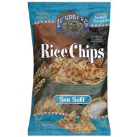 Lundberg Family Farms Sea Salt Rice Chips, 6 oz (Pack of 12)