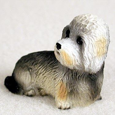 Dandie Dinmont Terrier Miniature Dog Figurine, Each figurine is carefully hand painted for that extra bit of realism. By Conversation Concepts Ship from (Dandie Dinmont Terrier Dog Figurine)