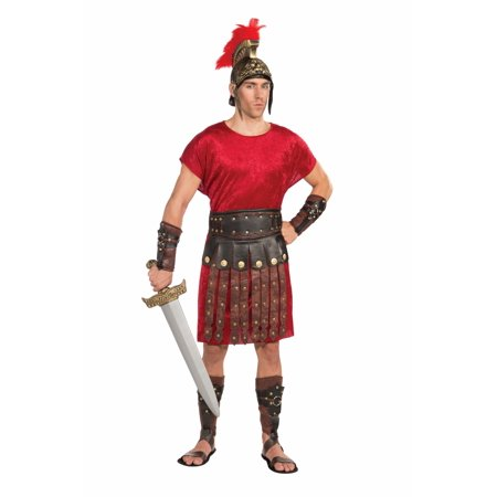 Roman Gladiator Costume Apron & Belt Set Adult