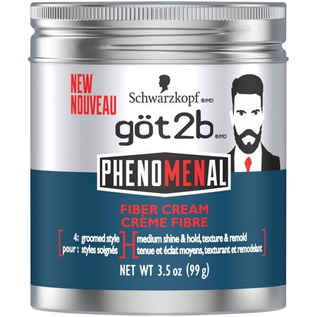 Got2b PhenoMENal Fiber Hair Cream, 3.5 (3.5 Ounce Body Care)