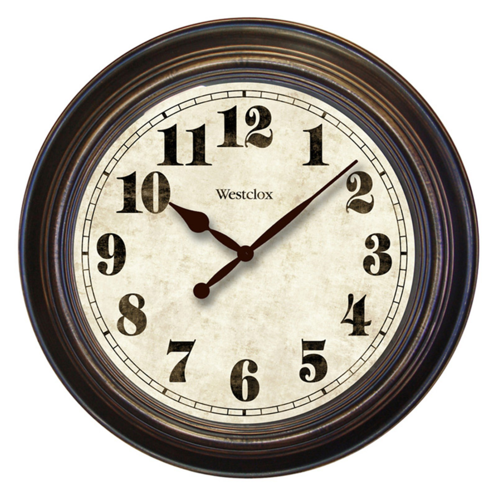 "Westclox 32213 Oversized Antiqued Classic 24"" Clock"