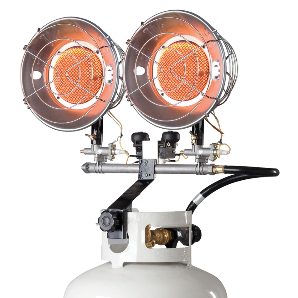 Mr Heater F242650 8,000 To 30,000 BTU Polished Chrome Propane Heater by ENERCO GROUP INC - MR HEATER