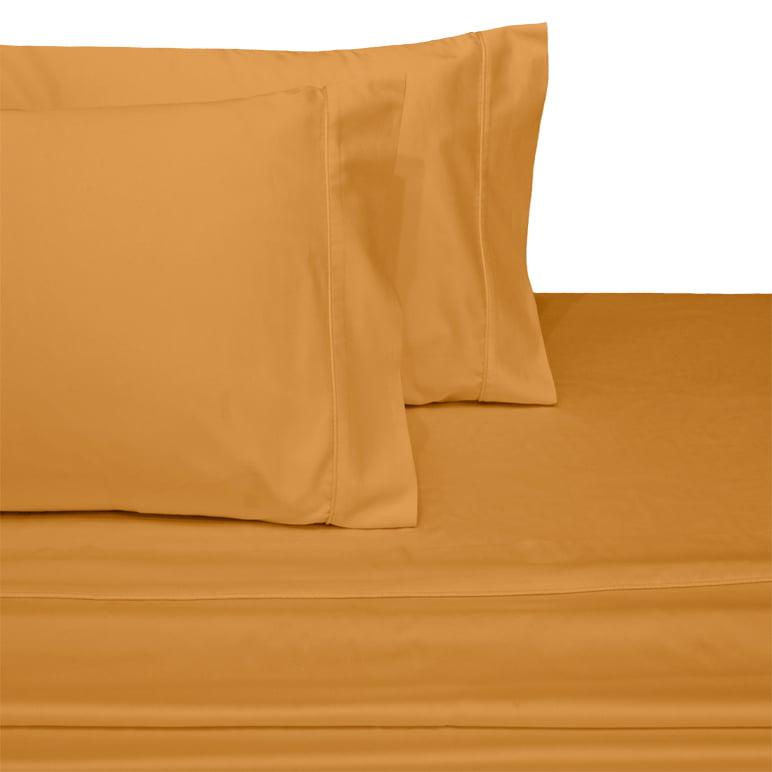 6 new white king size hotel pillowcases 20x40 200 thread count 100/% cotton