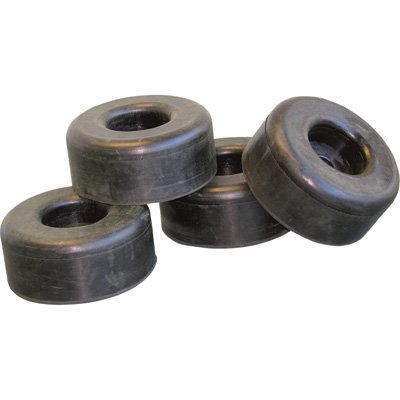 Pressure Washer Replacement Rubber Feet - 2.5in. Dia. x 1in., Set of ...